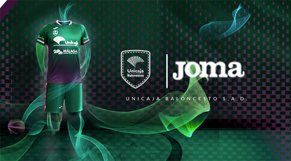 Joma debuta como patrocinador del Unicaja Baloncesto