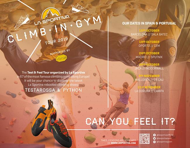 El Climb in Gym Tour de La Sportiva visitará 75 gimnasios de 18 países