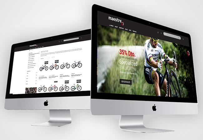 Maestre Bikes elige el canal online para su cuarta tienda