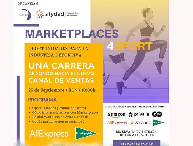 La jornada Marketplaces 4Sport contará con ponentes de El Corte Inglés y AliExpress