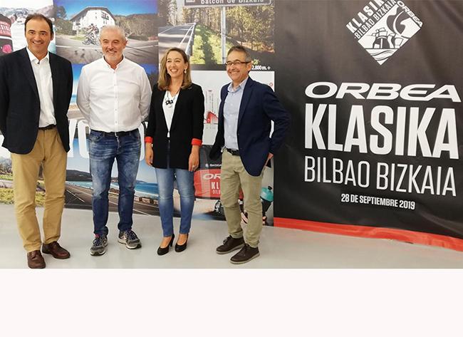 La Orbea Klasika Bilbao Bizkaia reunirá a 1.200 ciclistas en su primera edición