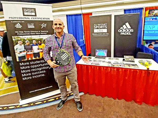 El pádel se hace un hueco en la conferencia mundial de la Asociación americana de Tenis