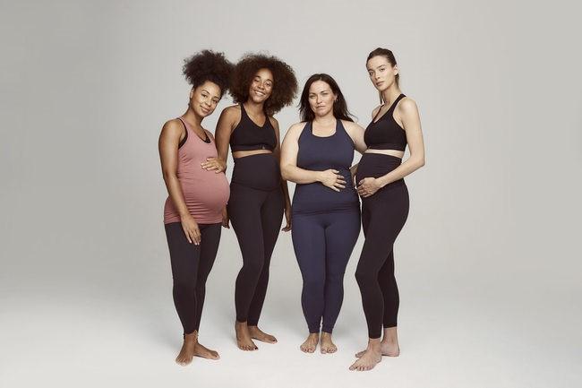 Reebok lanza su primera colección para embarazadas