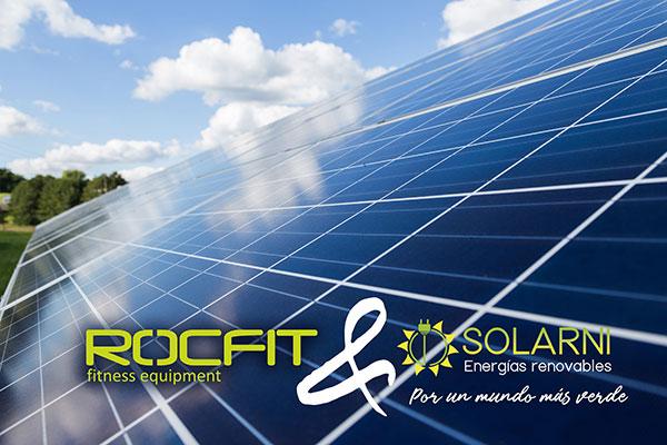 Rocfit impulsa el autoconsumo con energía fotovoltaica entre los gimnasios
