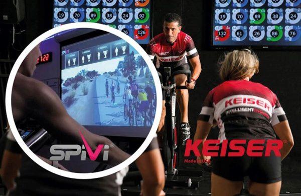 Seminario gratuito de Keiser de ciclismo indoor