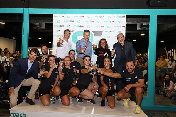 Synergym roza la veintena de gimnasios aterrizando en Galicia