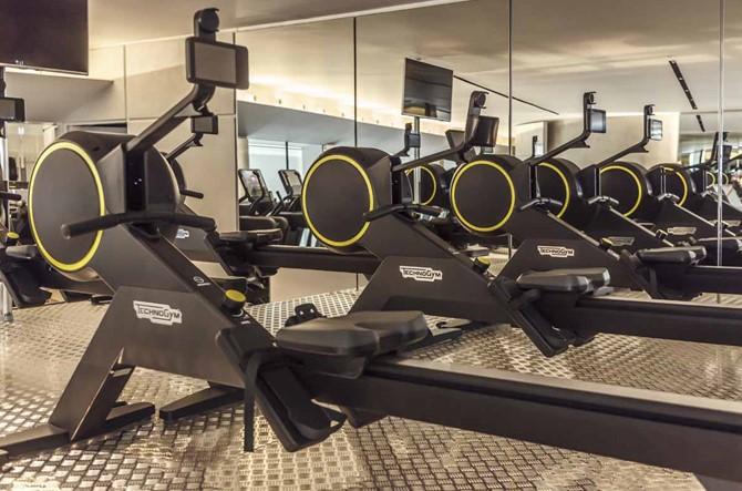 Technogym equipa un gimnasio de ocio total, el centro Blanche