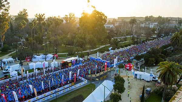 New Balance regalará 600 dorsales para la Zurich Maratón de Sevilla 2020