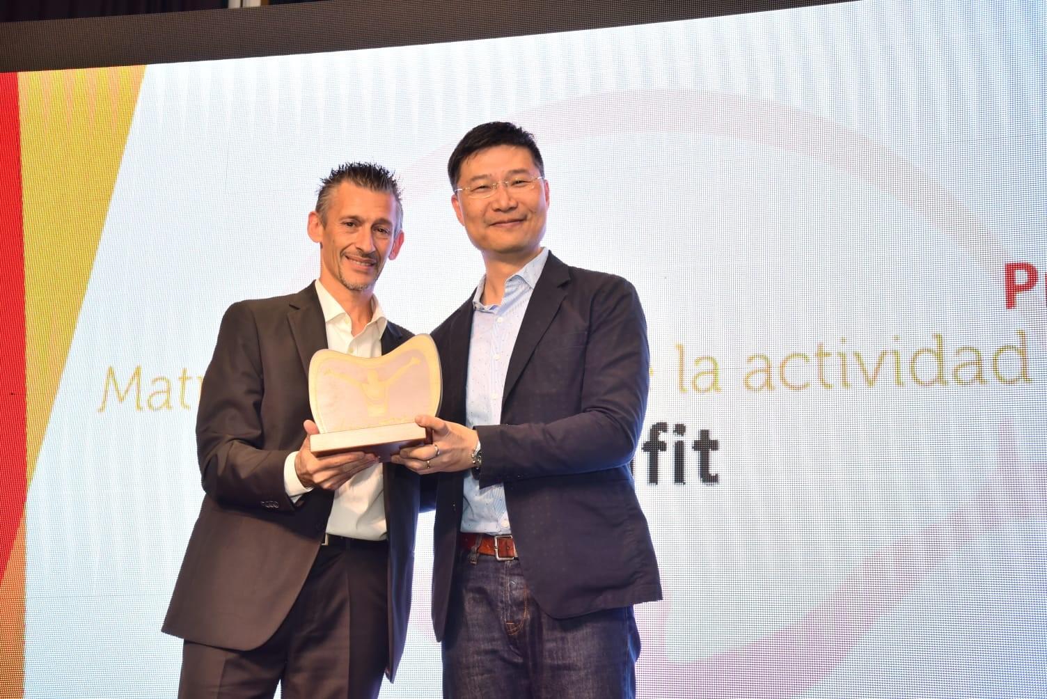 Altafit recibe el premio 'Patrocina un deportista' a la promoción de la actividad física