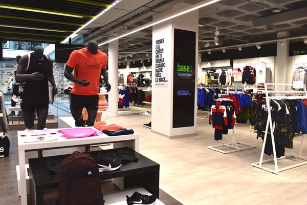 Base Deportes Natalia abre nuevos horizontes con una tienda con gimnasio