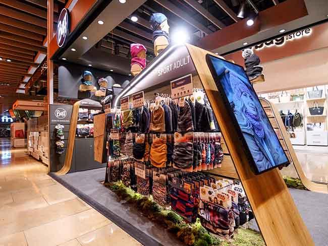 Buff abre su primera tienda 'fija' en Barcelona