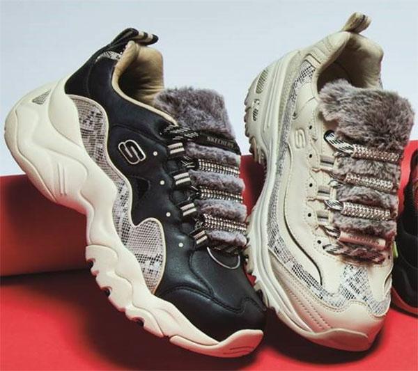 Skechers hace valer su condición de precursora de los chunky sneakers