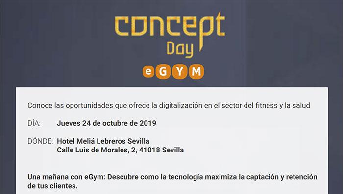 eGym convoca una jornada sobre digitalización en el fitness, en Sevilla