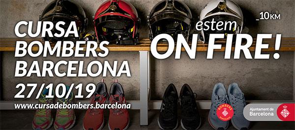 La Cursa Bombers de Barcelona aspira a alcanzar los 15.000 participantes