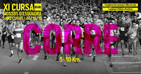 La Cursa DiR Mossos d'Esquadra Sant Cugat albergará el Campeonato de Catalunya 10 k en ruta