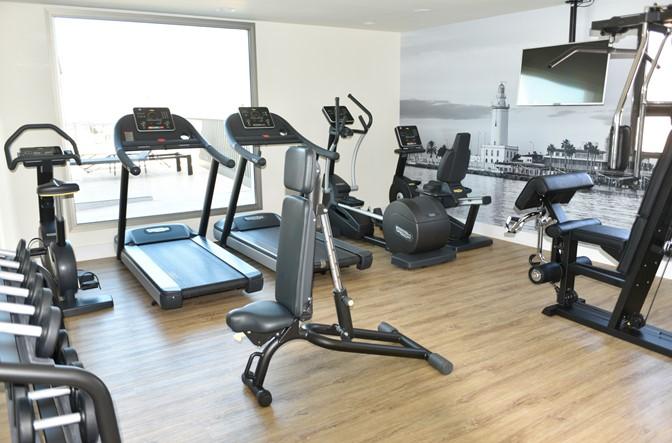 Inaugurado el nuevo gimnasio del Hotel NH Málaga