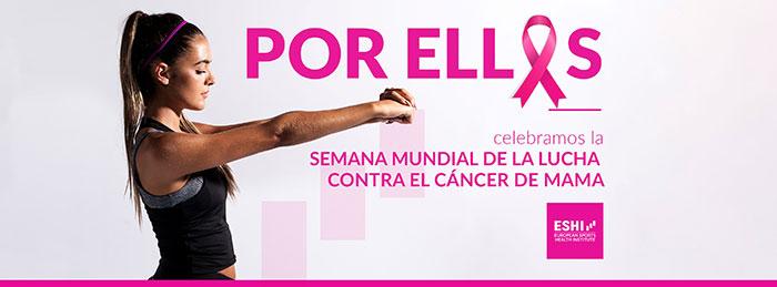 ESHI ofrecerá webinars gratuitos en la Semana Mundial de la lucha contra el cáncer de mama