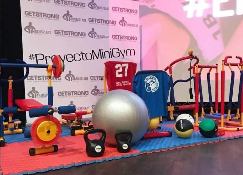 GetStrong y sus 'MiniGym' apuestan por el ejercicio infantil