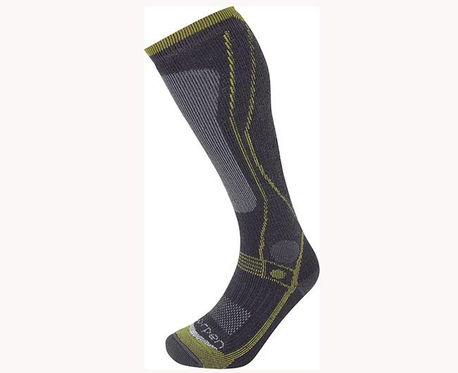 Lorpen potencia su calcetín insignia para la montaña en invierno