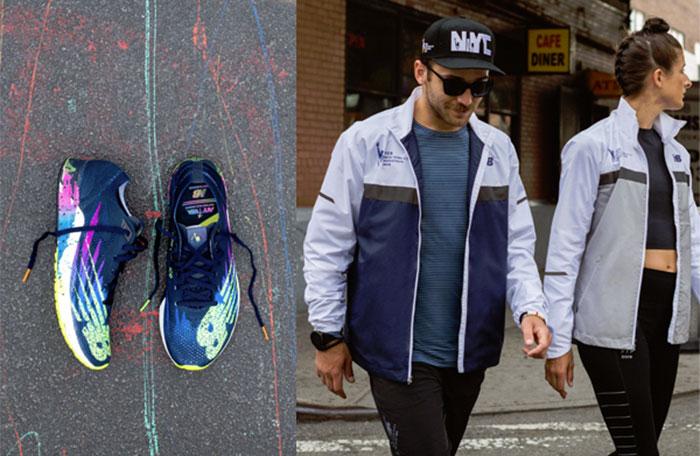 New Balance presenta la colección oficial del Maratón de Nueva York 2019