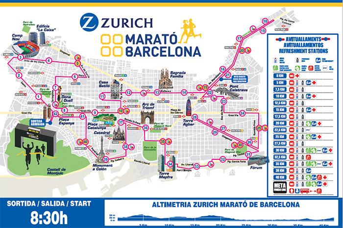 El Maratón de Barcelona supera los 5.000 inscritos y apunta a récord de participantes