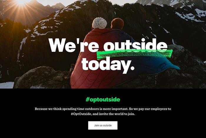 La cadena americana de outdoor REI cerrará todas sus tiendas el Black Friday