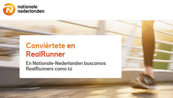 Runnea se asocia con Nationale-Nederlanden para la promoción del running