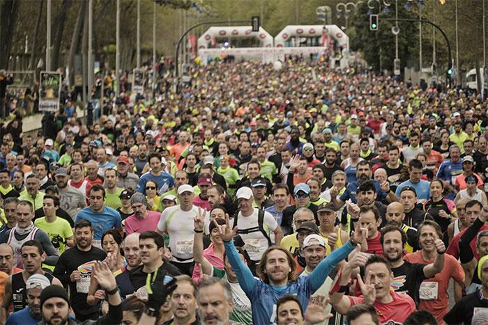 Las carreras San Silvestre españolas mueven a más de 675.000 corredores cada año