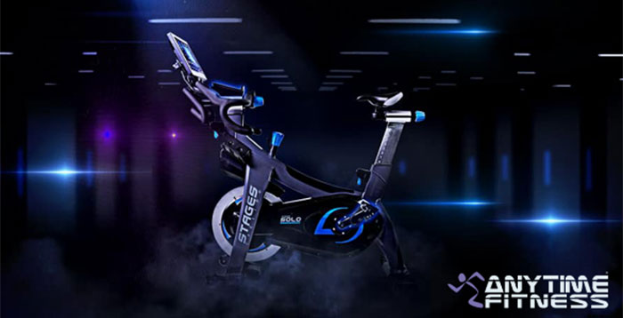 Anytime Fitness y Stages Indoor Cycling pedalean juntos