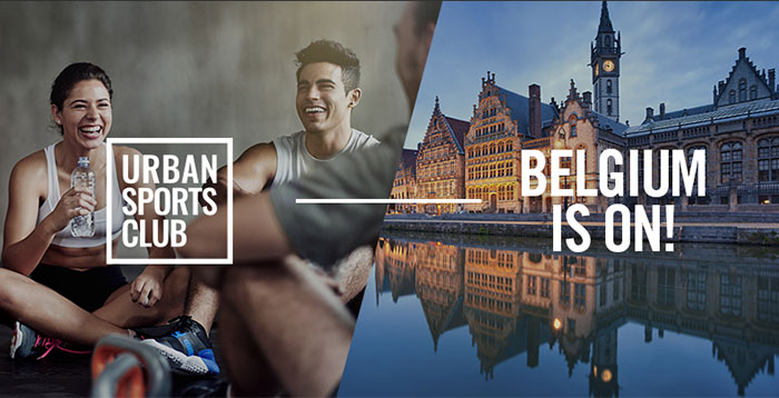 La plataforma Urban Sports Club se expande a Bélgica