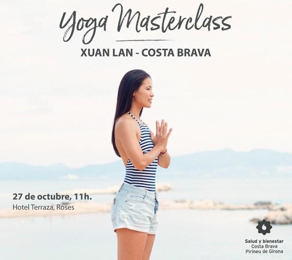 Xuan Lan ofrecerá una Masterclass de Yoga en la Costa Brava