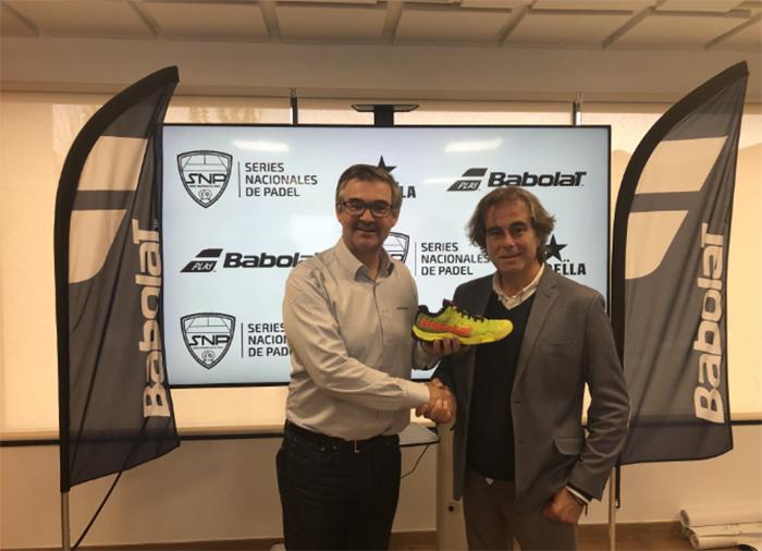 Babolat renueva como patrocinador de las Series Nacionales de Pádel Estrella Damm