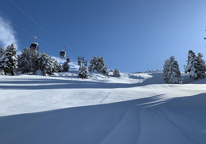 'Subidón' del esquí por el inicio anticipado de temporada