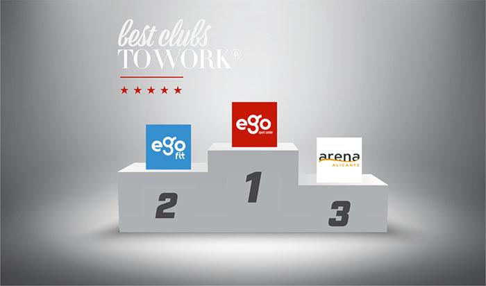 Ego Sport Club, elegido el mejor club de fitness para trabajar en España en 2019