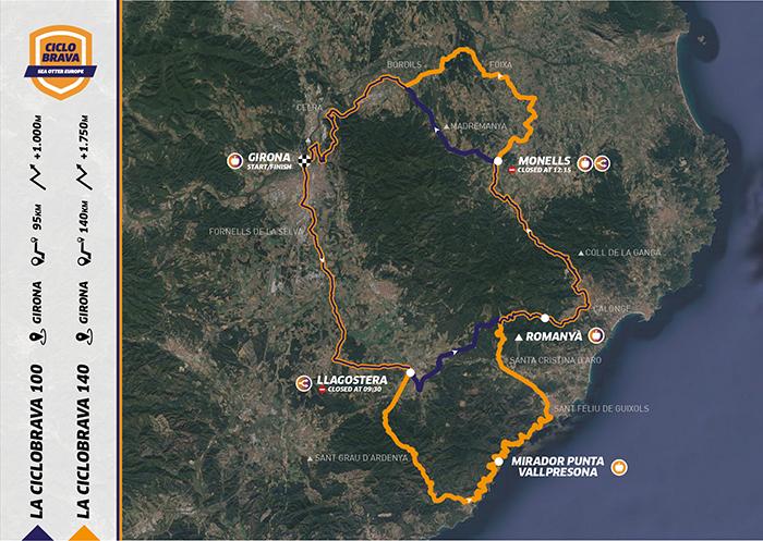 La Ciclobrava de Sea Otter Europe desvela sus dos recorridos