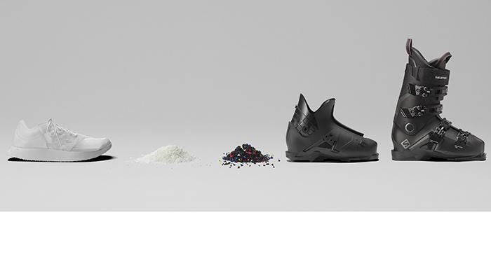 Salomon desarrolla una zapatilla de running que se recicla en bota de esquí