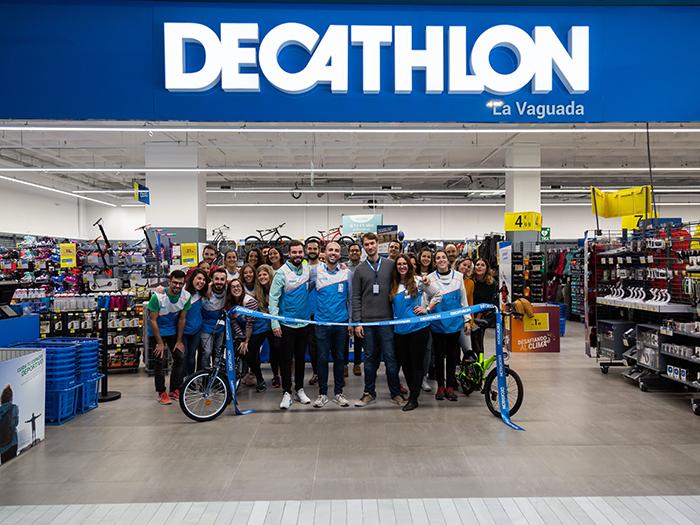 Decathlon crece en La Vaguada y ultima dos aperturas