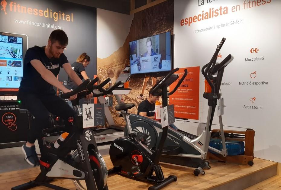 Fitnessdigital desembarca en Cataluña con tres tiendas de Intersport