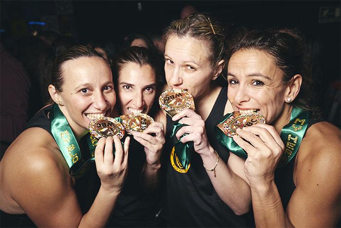 El mundial de Fitboxing tiene acento femenino