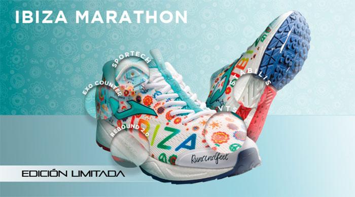 Joma diseña una zapatilla exclusiva para el Ibiza Marathon