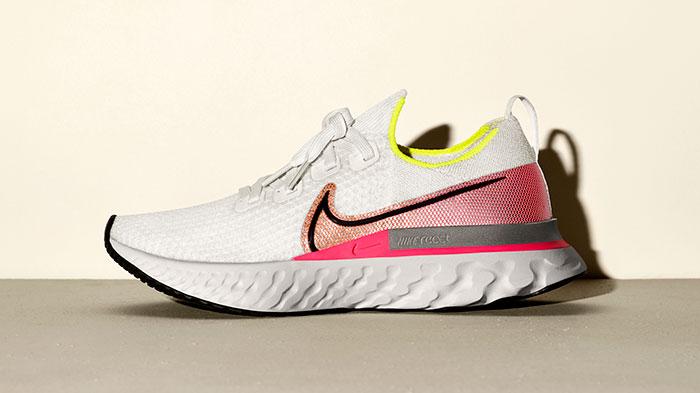 Nike lleva más allá su afán por reducir las lesiones con la zapatilla de running React Infinity Run