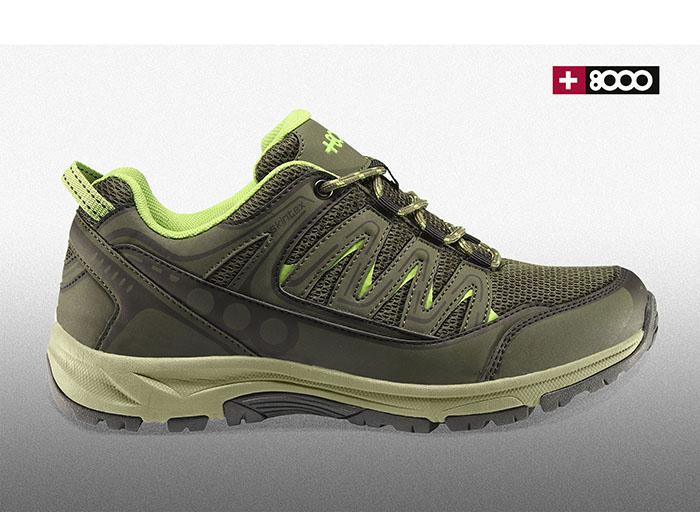 +8000 combina estabilidad, amortiguación y agarre en su zapatilla Tormenta