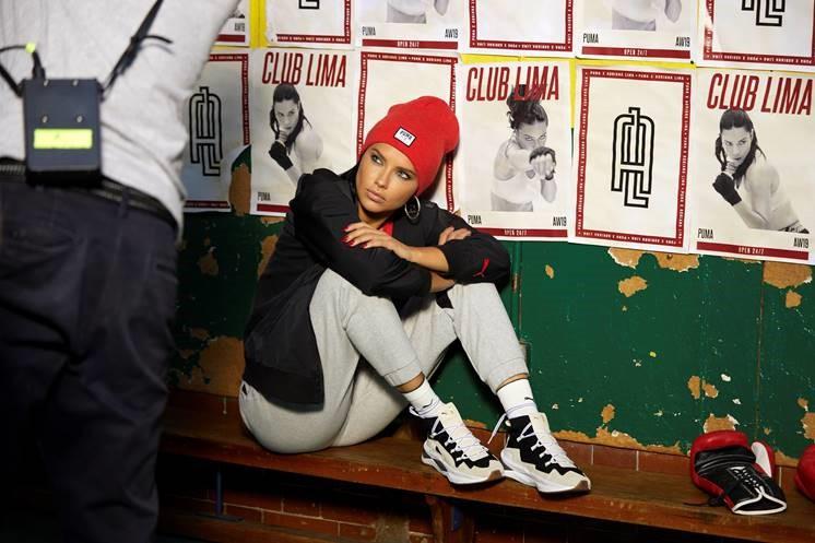 Puma y Adriana Lima diseñan una línea inspirada en el boxeo