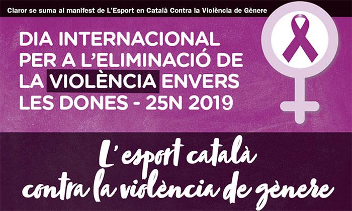 El Grupo Claror se adhiere al Manifiesto para la eliminación de la violencia hacia las mujeres