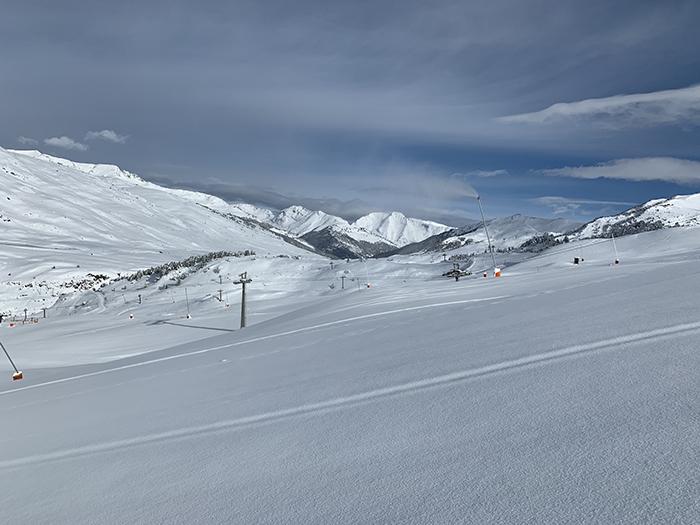 """Baqueira se propone rozar los 900.000 esquiadores tras un """"inicio de temporada soñado"""""""