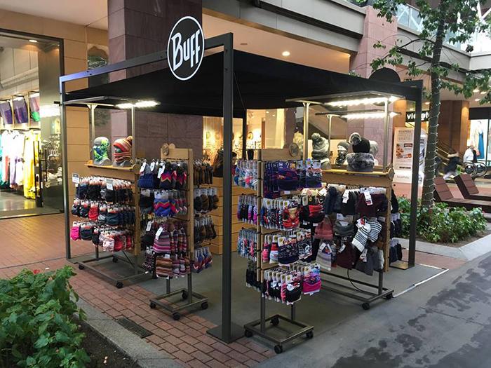 Buff refuerza su red de tiendas efímeras y roza la veintena de puntos de venta propios