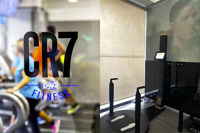 El escáner corporal Fit3D se introduce en los gimnasios CR7 Crunch Fitness