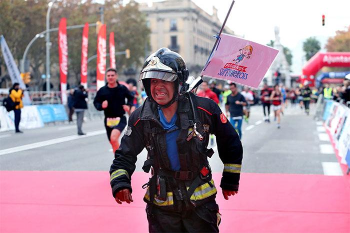 La Cursa Bombers recauda más de 33.000 euros para fines solidarios