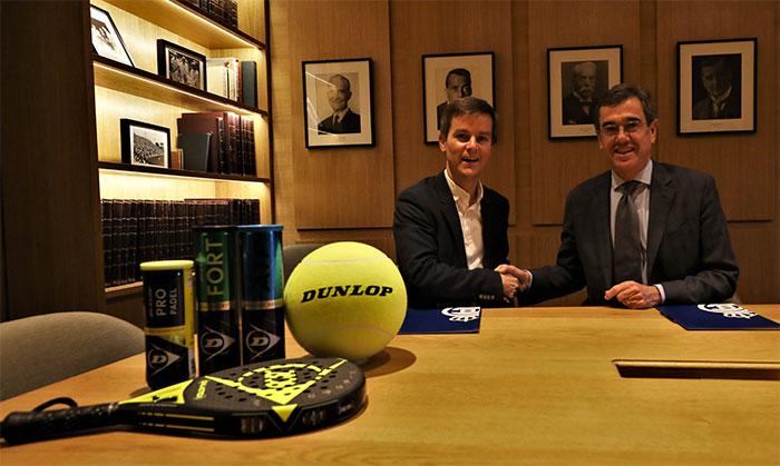 Dunlop renueva su patrocinio con el Real Club Tenis Barcelona 1899