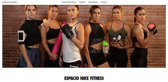 Nike calienta la Navidad con un marketplace específico de fitness